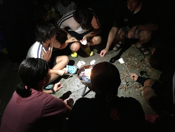 マシュマロの夜  学園キャンプ:1日目夜