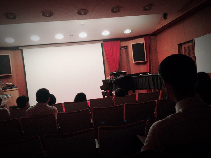 ピアノおさらい会(第1回目)