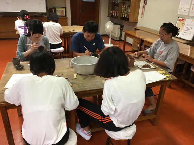 夏休み企画! 陶芸教室