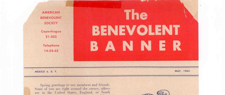 The Benevolent Banner Circa 1960s