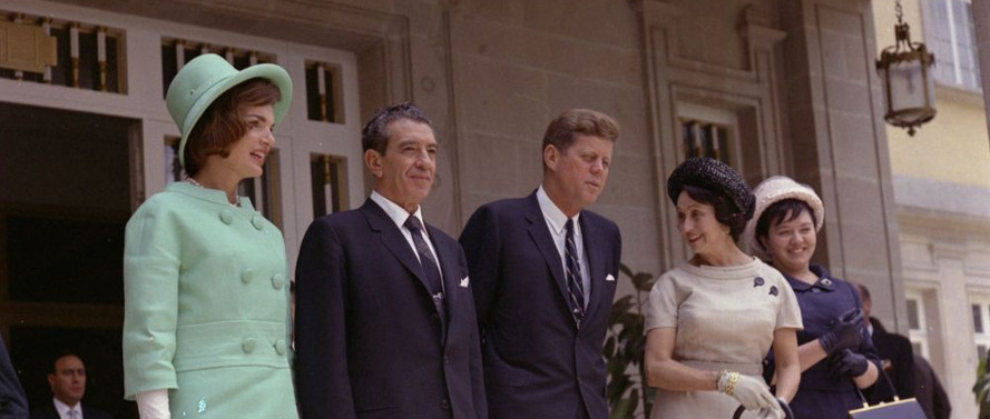 President John F. Kennedy and First Lady Visit Mexico City