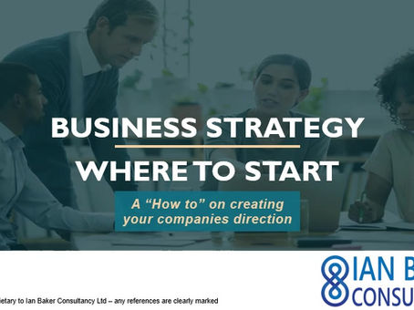 My FREE guide to how to write a business strategy - simple steps to help create a winning plan.