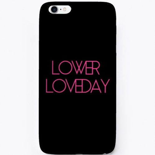 Lower Loveday iPhone Case