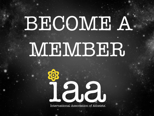 41 Reasons to become a member of International Association of Atheists