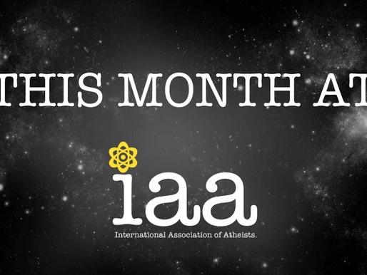 Last Month at IAA: July 2020