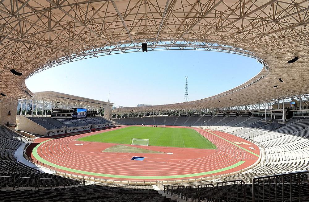 Tofiq Bahramov Republican Stadium in Azerbaijan