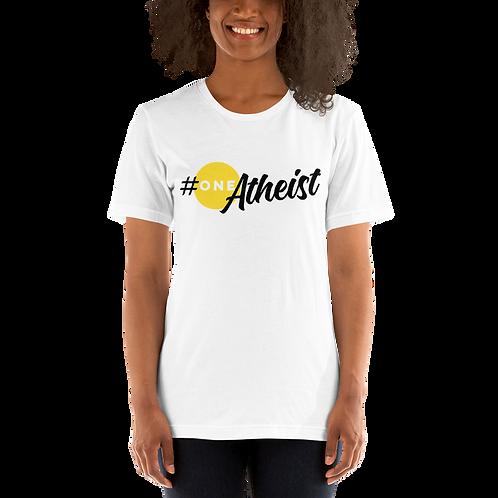 #oneATHEIST Short-Sleeve Unisex T-Shirt