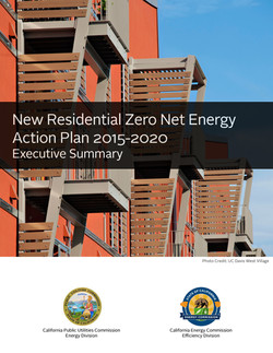 New Residential ZNE Action Plan