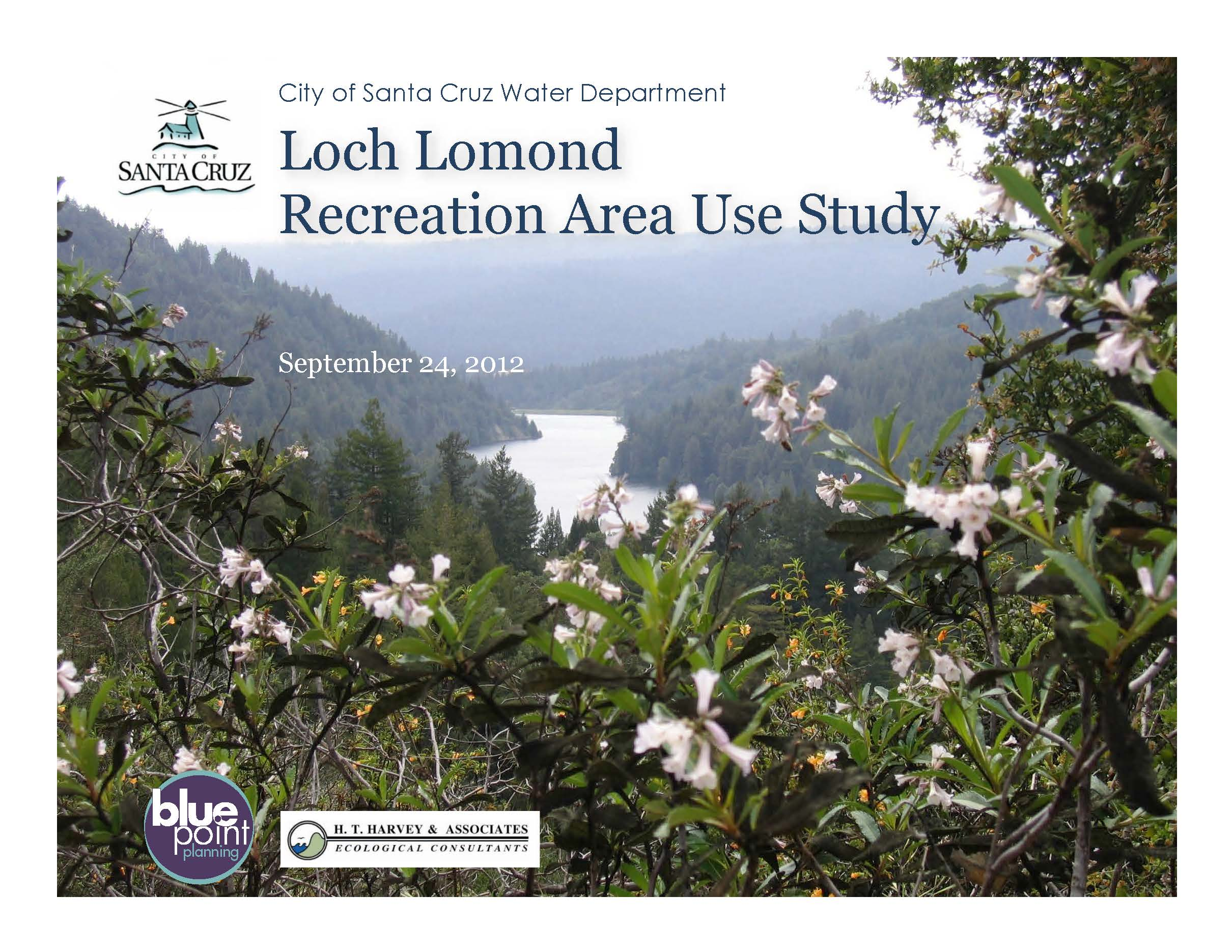 Loch Lomond Recreation Area Study