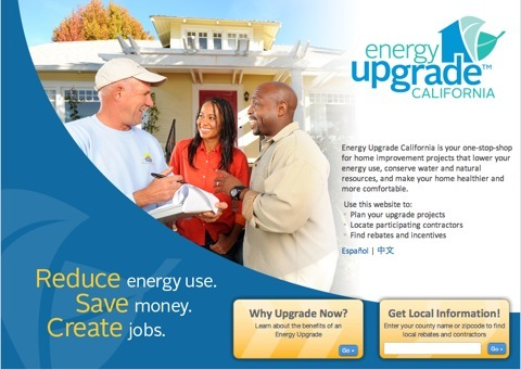Energy Upgrade Website 2010