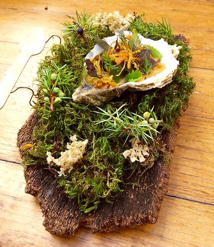 ostrica e coniglio Vieste Chef Andrea Miacola