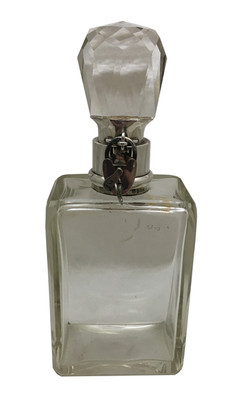 A Locking decanter with padlock