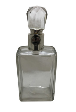 An Asprey Locking decanter