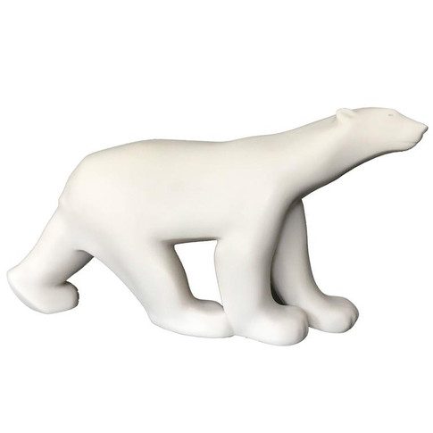 Art Deco Polar Bear Bronze by Pompon 'Ours Blanc'