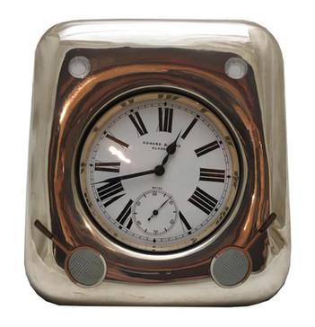 Silver & Enamel tennis theme clock
