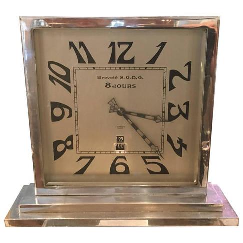 An Art Deco Cartier Mantle clock