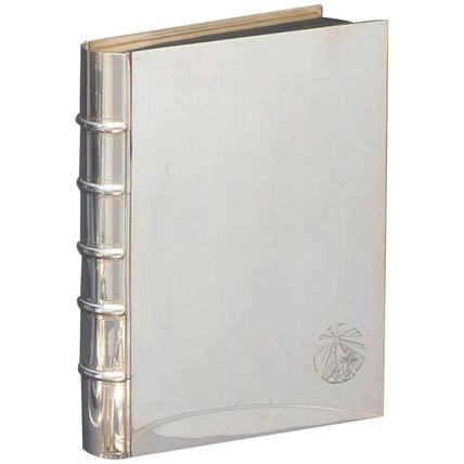 A rare Tiffany & Co book form cigar box