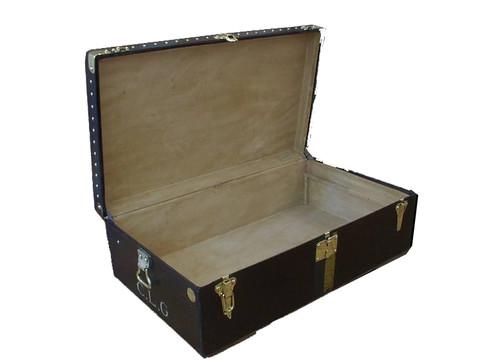 A Louis Vuitton Motoring trunk circa 1910