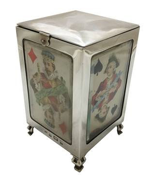 A rare playing card box