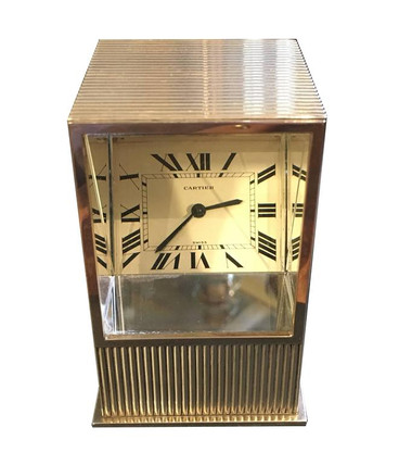 A Cartier Mystery / Prism clock