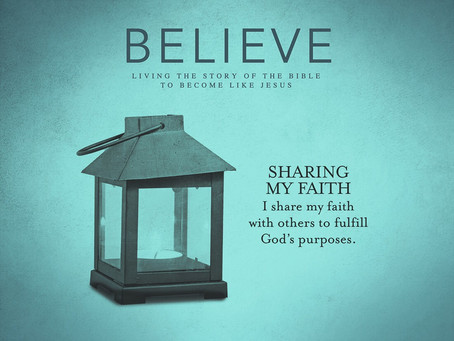 Sharing My Faith - My Approach
