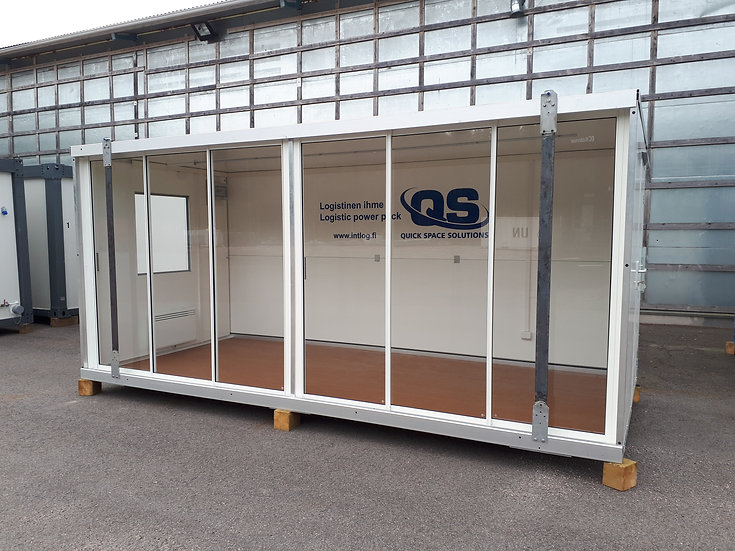QuickSpace liukulasiseinämoduuli - IMODQS803