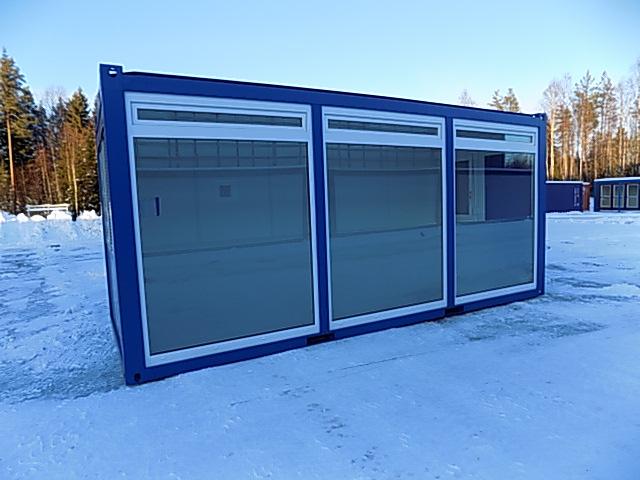 Glass Wall Module / Office 20'