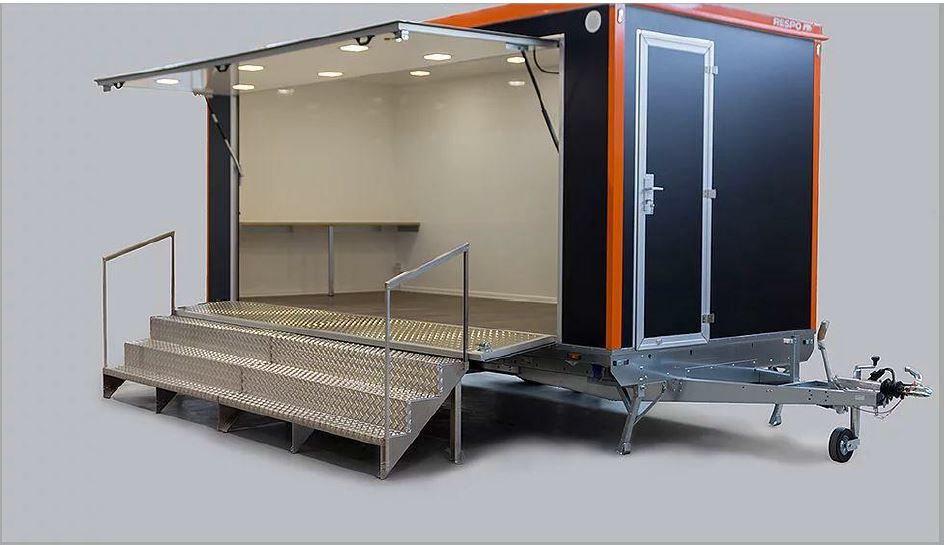Esittelyvaunu WC:llä (vedettävä) - IMODVE701
