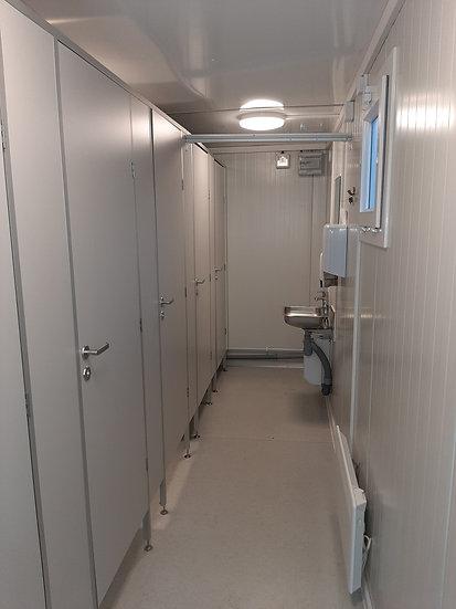 WC-moduuli 6 paikkainen - IMODS103