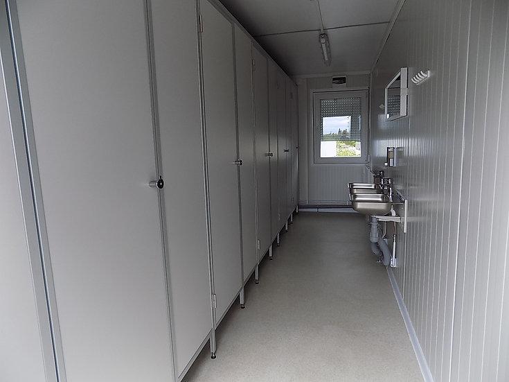 WC-moduuli 5 paikkainen - IMODS101
