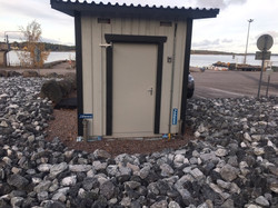 WC/varasto moduuli