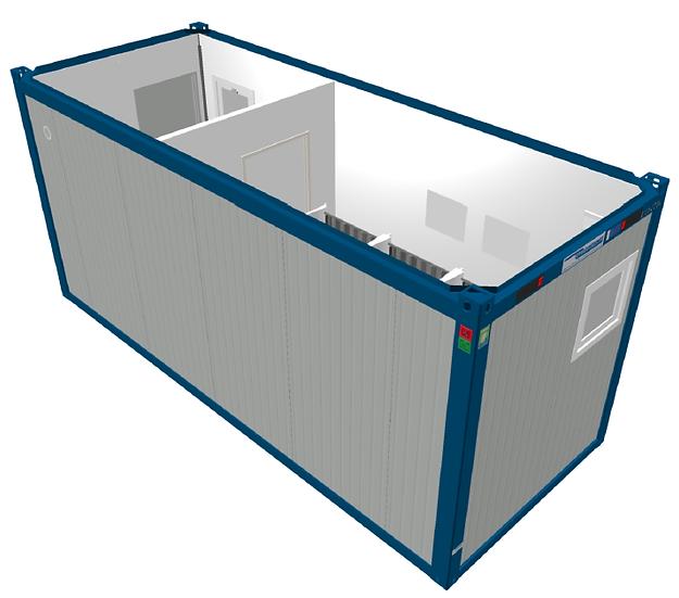 Shower/Locker Room Module