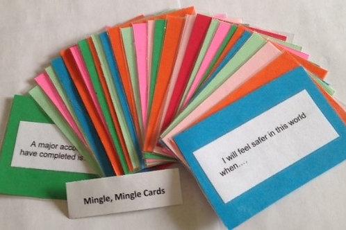 Mingle,mingle cards
