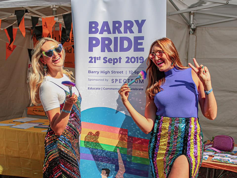Spectrum Collections and Barry Pride at Pride Cymru Cardiff Pride 2019