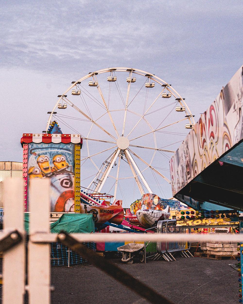 Barry Island Fair Ground South Wales