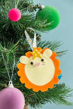 Lion Christmas Tree Decoration