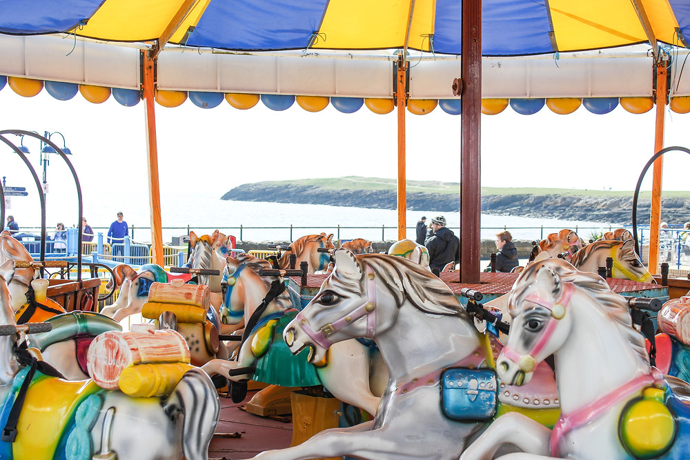 Barry Island Beach South Wales Amusements