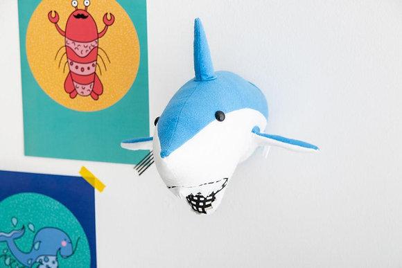 Shark Felt Animal Head