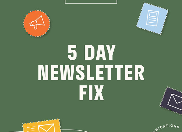 The 5 Day Newsletter Fix