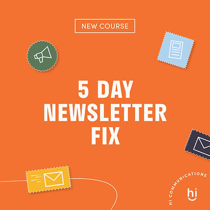 5 Day Newsletter Fix for Small Business
