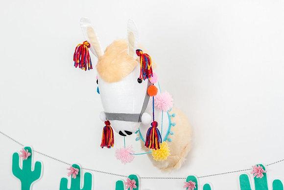 Llama Animal Head