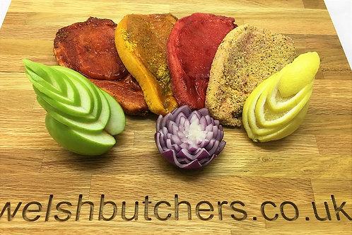 Marinated Pork Loin Steak (gluten free)