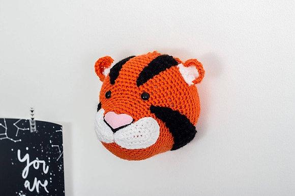 Crochet Tiger Head