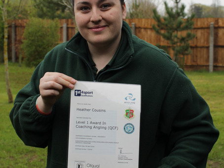 Heather Completes Coaching Course