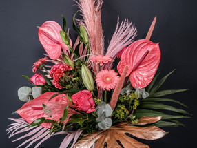Working with Beautiful Lily Flowers in Barry, South Wales