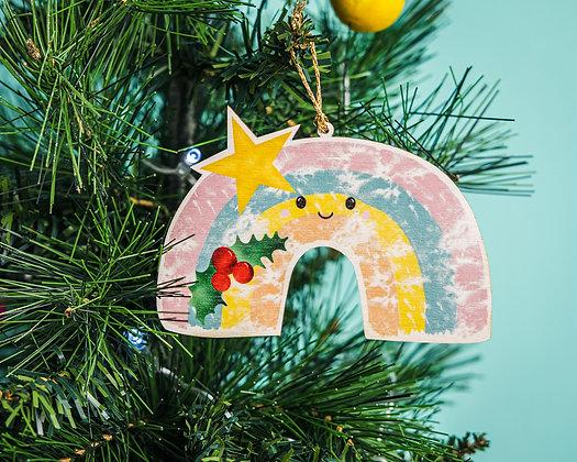 Rainbow Christmas Decoration