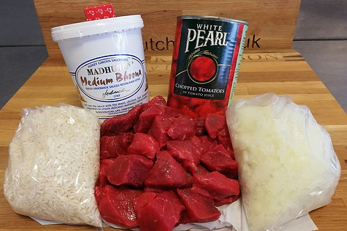 Beef Curry Meal Pack