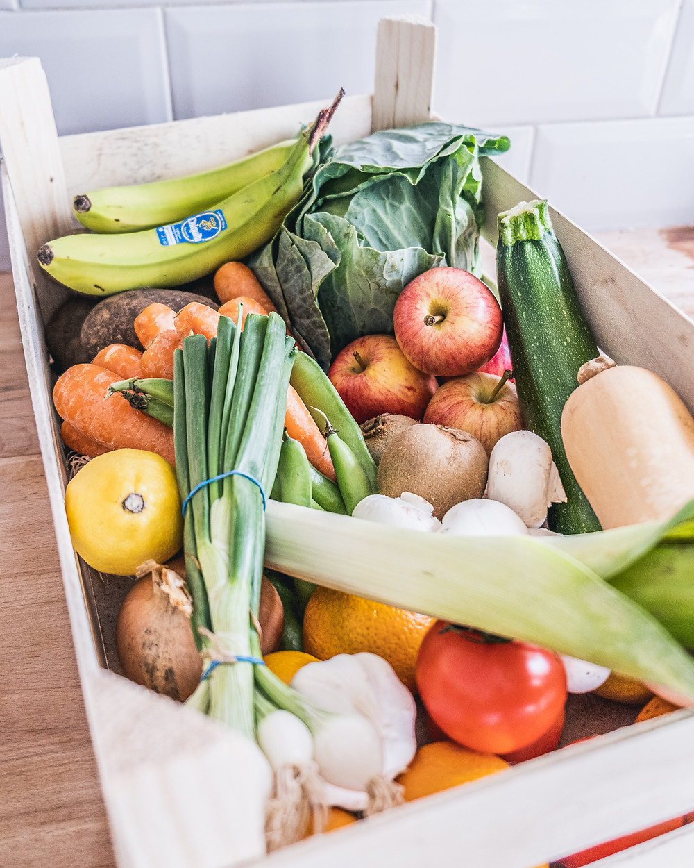 eco-friendly swap for plastic free July. Awesome Wales Veg Box in Barry, Vale of Glamorgan