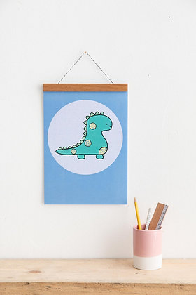Dinosaur Wall Art Print