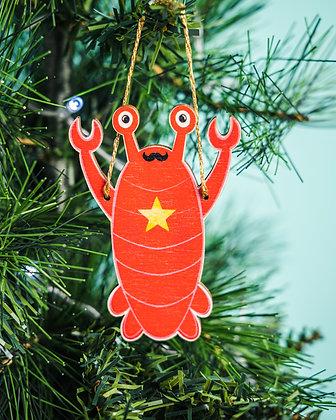Lobster Christmas Tree Ornament